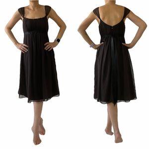 Vera Wang Maids Dress Chiffon Straps